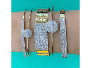Wire Affair Long Strap Bracelet