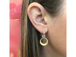Crescent Loop Huggie Earrings