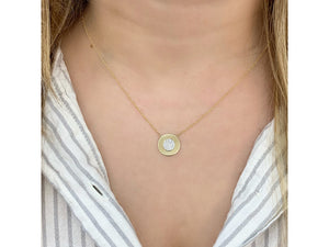 Infinity Plate Necklace