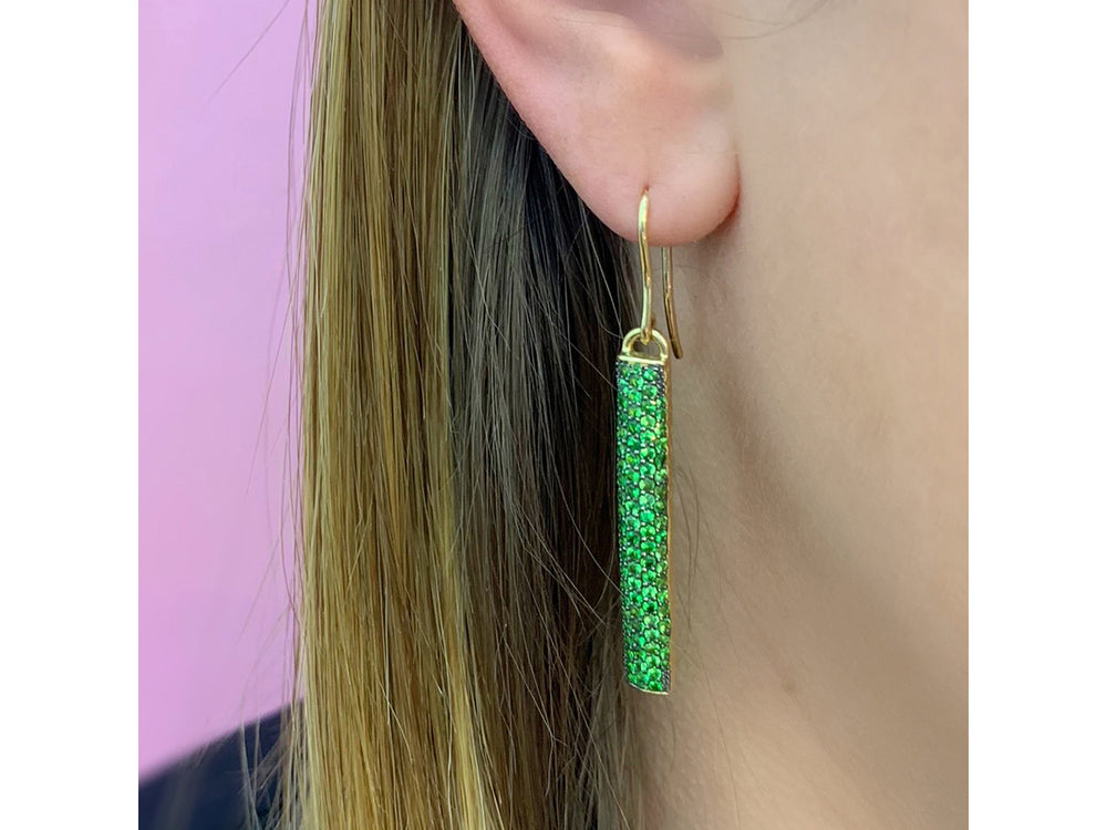 Contrast Drop Earrings