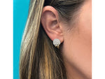 Triple Pierced Stud Earrings