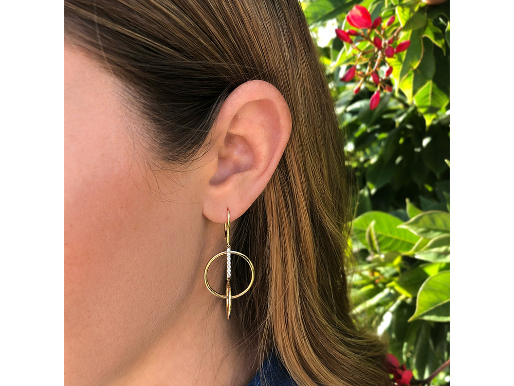 Affair Single Loop Earrings