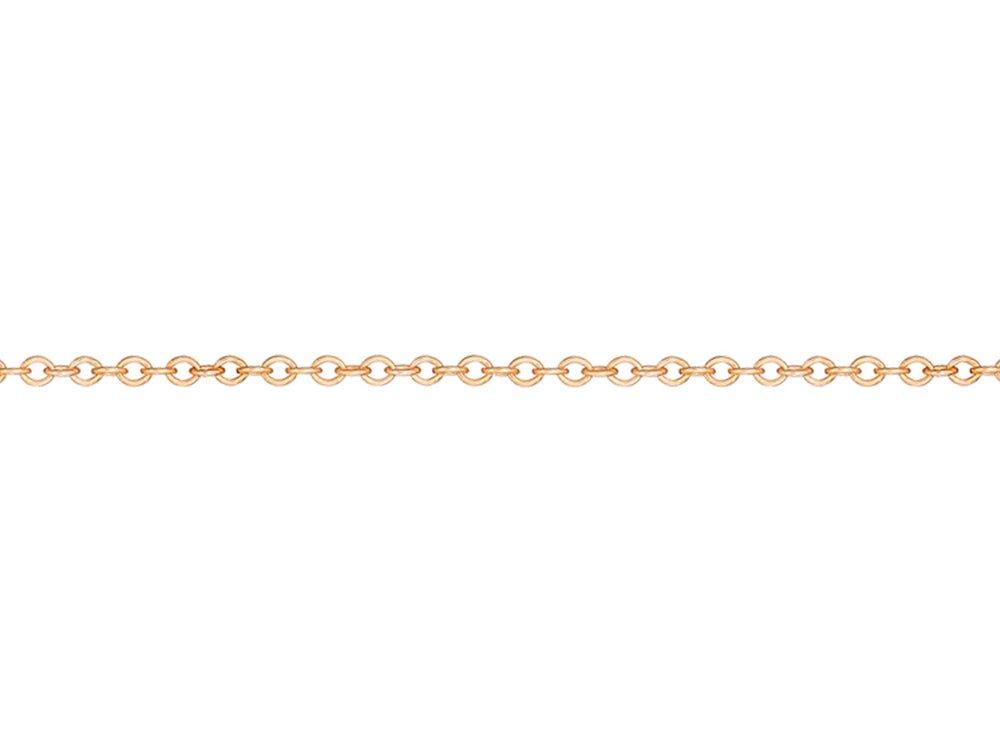 Rose Gold Rollo Chain