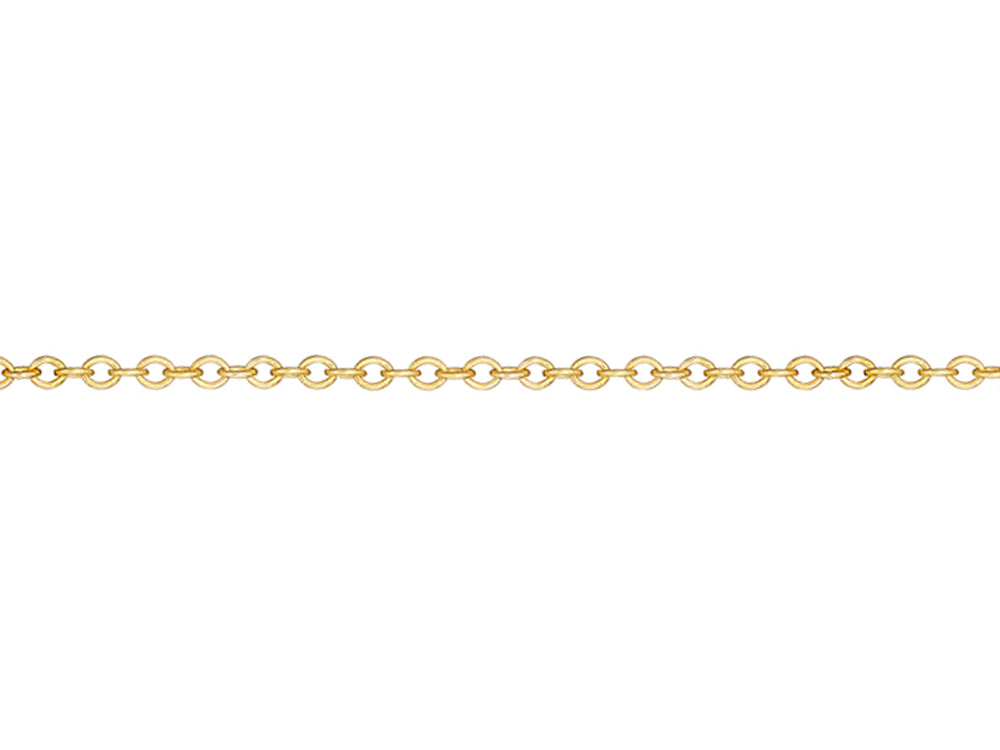 Yellow Gold Rollo Chain