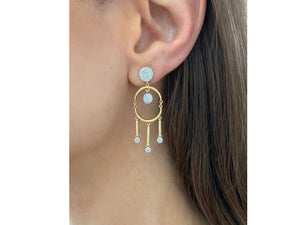 Load image into Gallery viewer, Affair Dangle Earrings