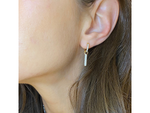 Contrast Bar Earrings