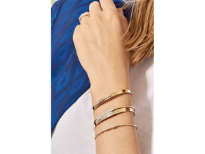 Load image into Gallery viewer, Baguette Strap Bracelet