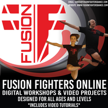 Load image into Gallery viewer, *NEW* Fusion Fighters Zoom Sessions - Inclusive For All Ages & Levels. 💃🏻
