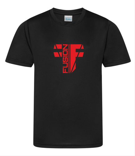 Youth (Unisex) Black Performance Shirt