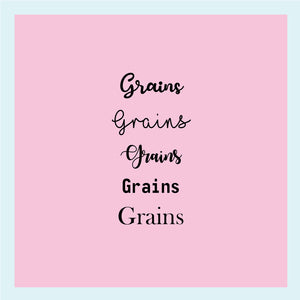 "Single Label: ""Grains"""