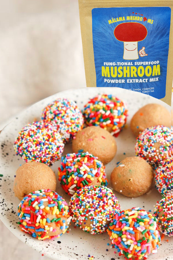 Superfood Cake Batter Balls (GF, Vegan)