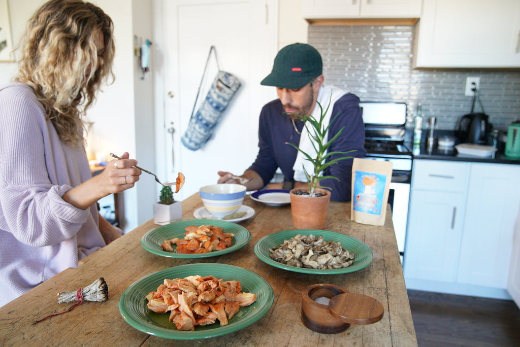 How to cook up your Chicken + Hen of the Woods 🙃🍄🌲