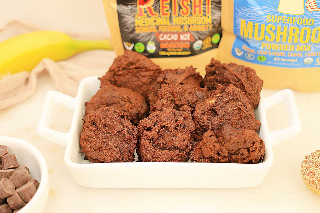 Double Mush Chocolate Chip Cookies