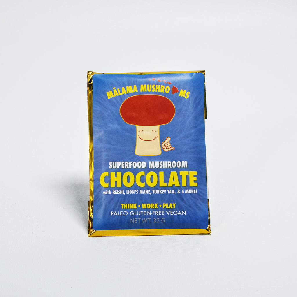 Mushroom Chocolate (Pack of 10) PRE-ORDER Ships Mid-April :)