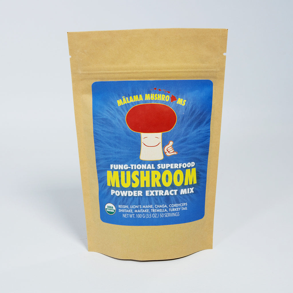 8 Mushroom Superfood Powder Mix