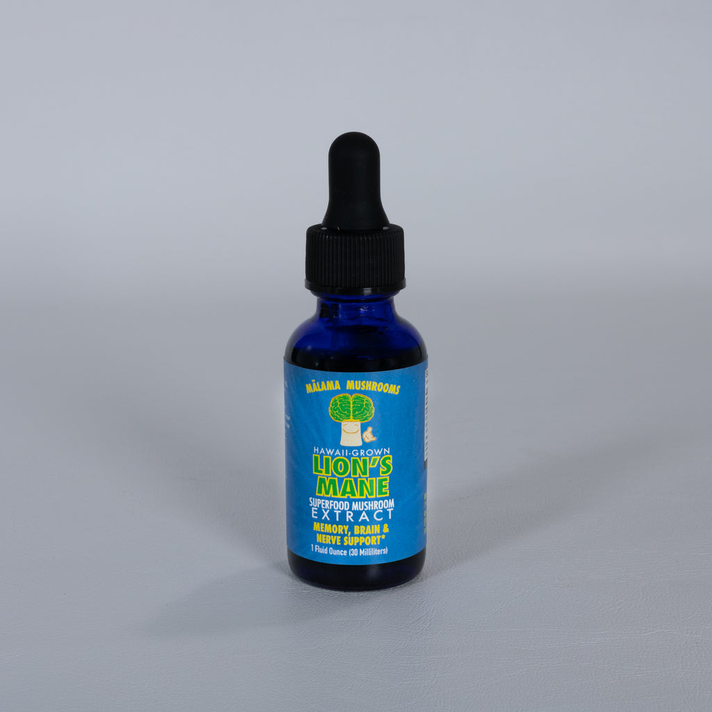 Lion's Mane Tincture (Dual-Extract)(New low price)