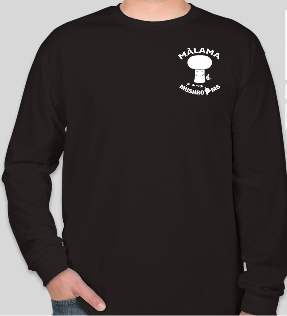 New-Long Sleeve T-Shirt (Front and Back Logo)