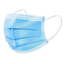 Load image into Gallery viewer, 3-Ply Disposable Surgical Face Masks - Case of 50