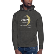 "Load image into Gallery viewer, ""Shoot For The Stars"" Cotton Unisex Hoodie"