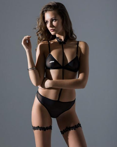 Image of martita choker + catalina panties - Promees