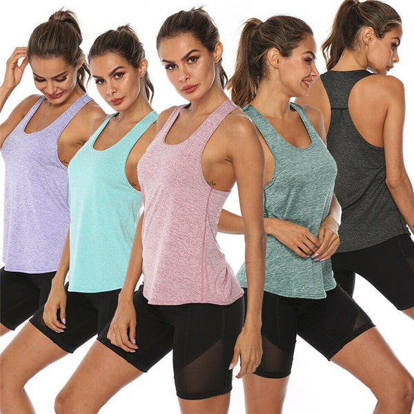 Fitness Jogging Yoga Tank Tops