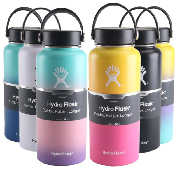 18oz/32oz/40oz Hydro Flask Vacuum Insulated Stainless Steel Water Bottle
