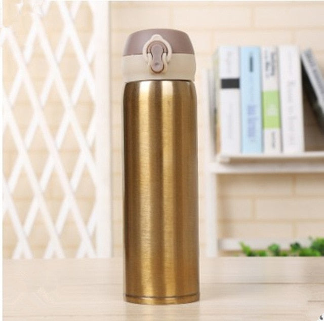 Double Wall Stainless Steel Vacuum Flasks 500ml