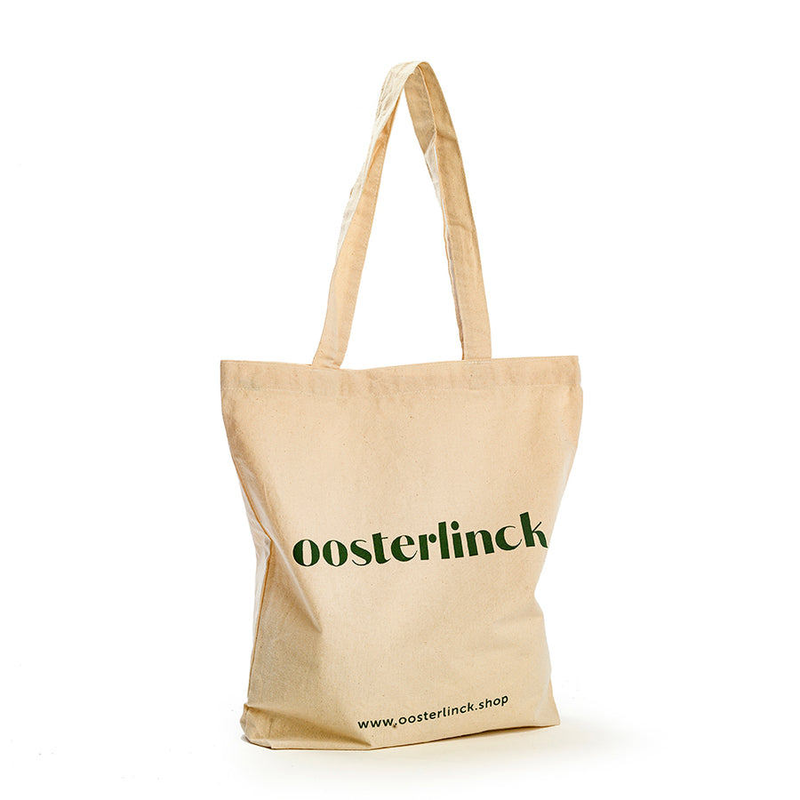 Katoenen tote bag OOS model eva