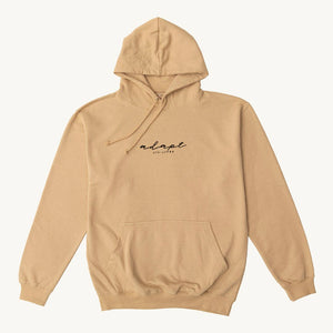 Camel Embroidered Hoodie H#003
