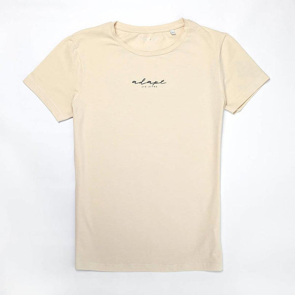 Womens Stone scripted tee T#005