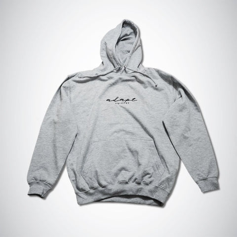 Adapt Jiu-Jitsu heather grey Hoodie H#001