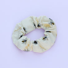 Load image into Gallery viewer, Yellow Bumblebee Scrunchie