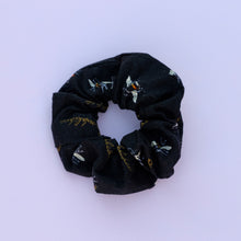 Load image into Gallery viewer, Black Bumblebee Scrunchie