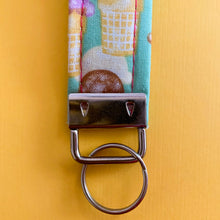 Load image into Gallery viewer, Teal Icecream Key Fob