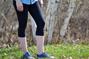 Leggings casual- Noir