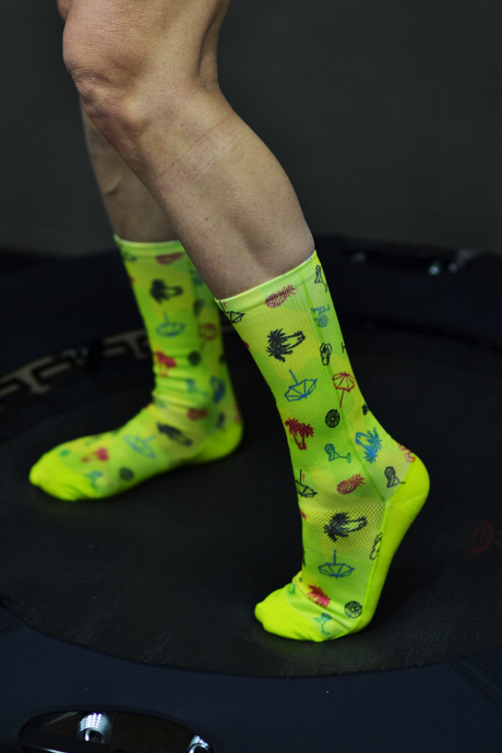 APRT Sport socks - Flowered marble