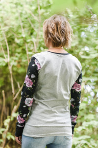 Long Sleeve Shirt- Miss Floral