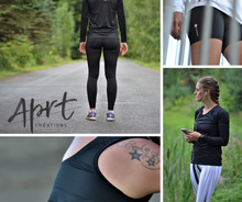 Load image into Gallery viewer, Leggings or sport capris - Black