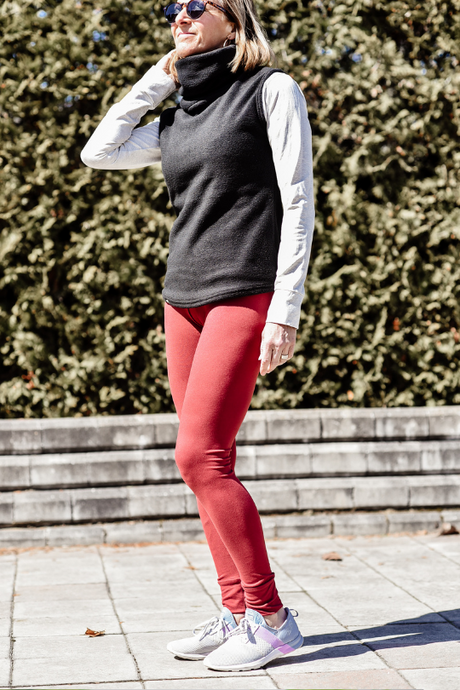 Leggings casual - Rouille