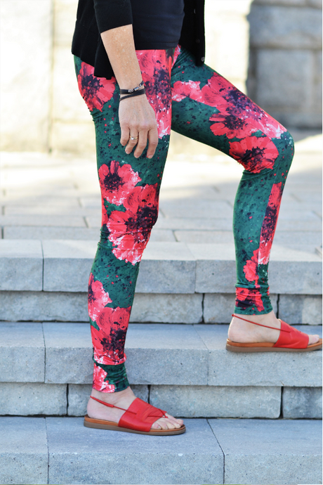 Leggings casual- Pétale