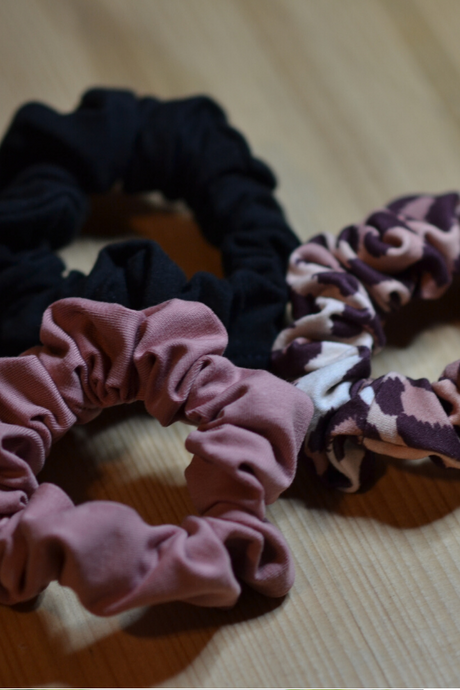 3 pcs Scrunchie - Savage
