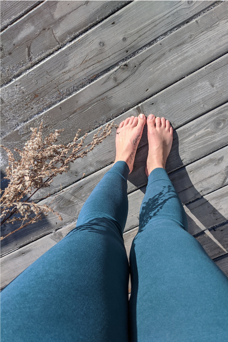 Casual Leggings - Green