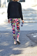 Load image into Gallery viewer, Leggings casual- Fleurs des champs