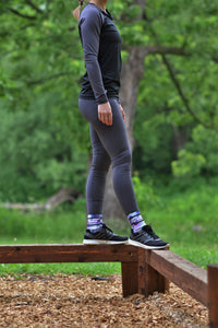 Leggings or sport capris - Charcoal