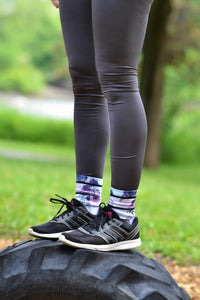 Leggings ou capri sport - Charcoal