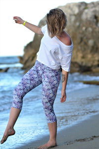 Leggings 3/4 sport -Pastel