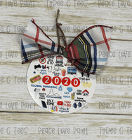 All the Things 2020 Ornament