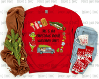 Christmas Movie Tee- Adult