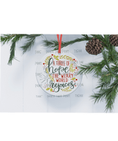 Thrill of Hope Ornament