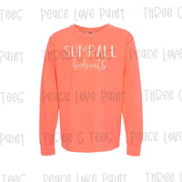 YOUTH Sumrall Bobcats Long Sleeve Tee